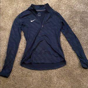Nike half zip jacket